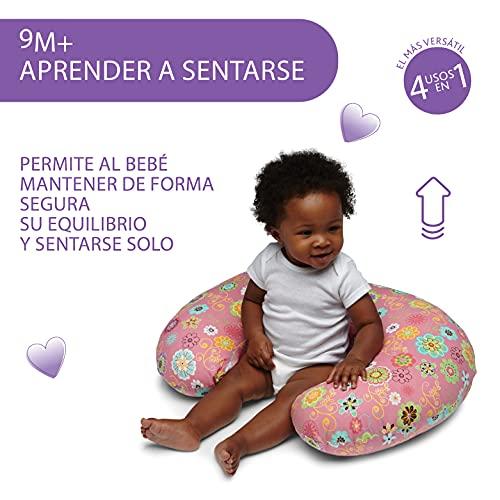 Boppy Cojin de Lactancia para Bebés de 0+ Meses, Forma...