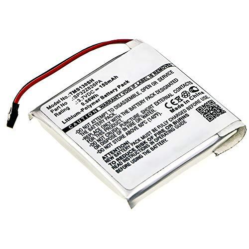 subtel Batería de Repuesto SP322826PA Compatible con smartwatch Tomtom Spark 3, 150mAh SP322826PA Accu Battery Pack
