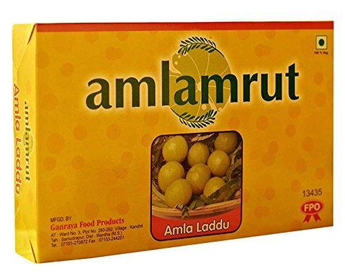 Amlamrut Fat Free Köstliche indische Stachelbeere (Amla) Ladu- Gewicht erhältlich