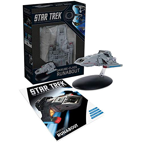 Hero Collector | Star Trek The Official Starships Collection | Eaglemoss Model Ship Box Starfleet Runabout