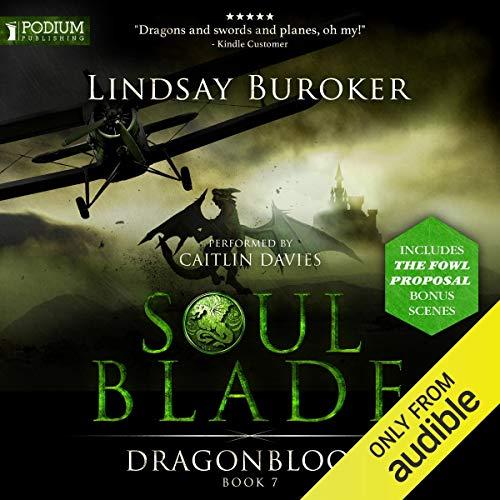 Soulblade audiobook cover art