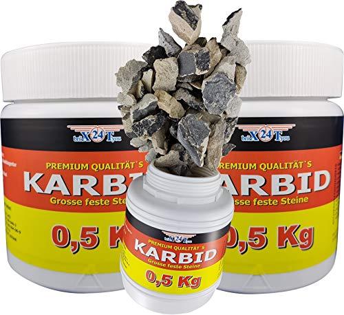 bri\'X24T\'you Karbid**NEU**1,500KG +Marken Premium Karbid der Firma BRIN\'X UNERREICHT in QUALITÄT u. WIRKUNGsDauer 100/5(3x0,500KG=1,500KG)