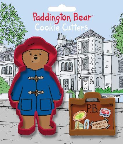 Product Image 2: Anniversary House K0002/PA Paddington Bear Cookie Cutter Set