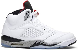 Men's Air Jordan 5 retro high-top basketball shoes sports shoes classic fashion tide shoes