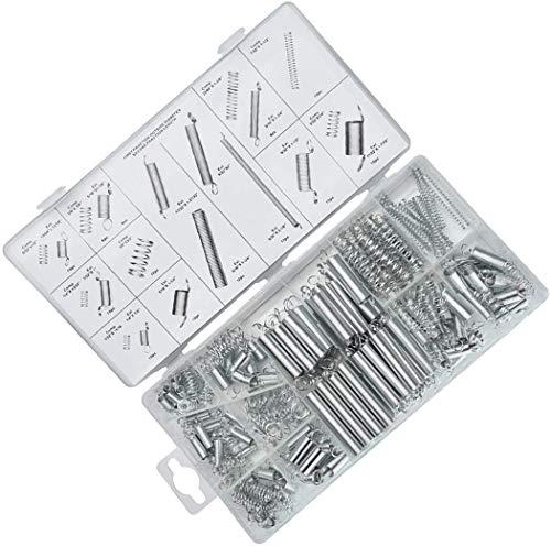 Hardware 200 unids-Especificaciones múltiples Surtido de acero Primavera Herramientas eléctricas Extensión de tambor Tensión Springs Presión Traje Metal Surtido de hardware Kit