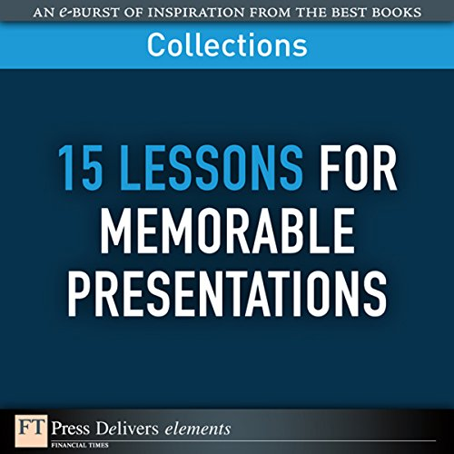FT Press Delivers: 15 Lessons for Memorable Presentations cover art