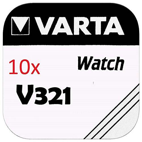 VARTA KNOPFZELLEN 321 SR616SW (10 Stück, V321)