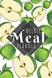 Meal Planner: Apple- 52 Week Food Planner / Diary / Log / Journal / Calendar - Planning Grocery List - Meal Prep - Notebook Journal