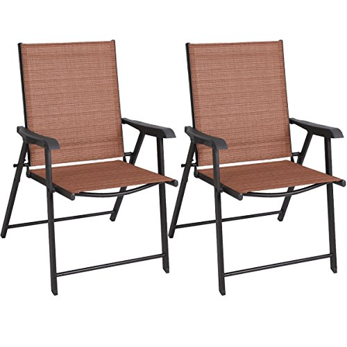 Price comparison product image EZ FunShell Indoor & Outdoor Patio folding chairs,  red
