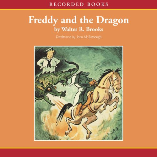 Freddy and the Dragon audiobook cover art
