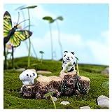 Aqiong Hibeilinq 1pc Arbre Stump Pont modèle Mini Résine Fée Jardin Miniatures Bricolage Maison de poupée/Terrarium/Succulentes/Micro Paysage Décoration Fournitures d'artisanat