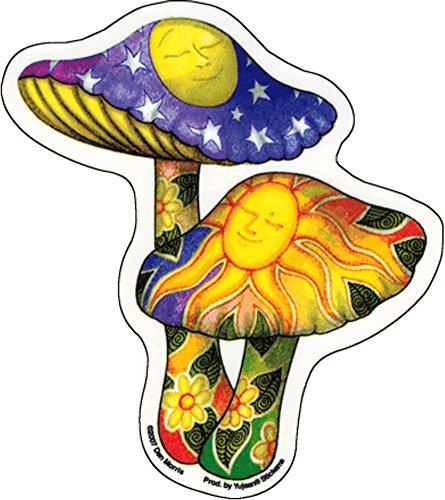 Vinyl Sticker Waterproof Decal GT Graphics Magic Mushrooms