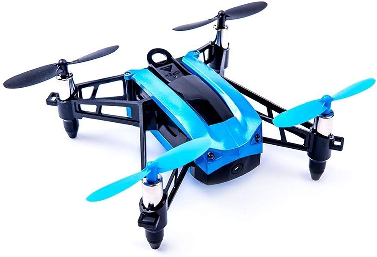 CHSSC Remote Control Helicopter, Headless Mode, Small Drone, LED Flash, 360 Degree Flip, One Button Return, Beginner (color   bluee)