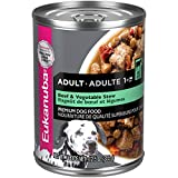 EUKANUBA Adult Beef & Vegetable Stew Canned Dog Food, 12.5 oz Can (Pack of 12)