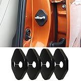 ドアストライカーカバー 汎用 ドアロックストライカー カバー 適合 トヨタ ヴォクシー VOXY エスティマ ESTIMA ハイエースバン HIACE アクア AQUABb C-HR WiLL Vi WiLL VS