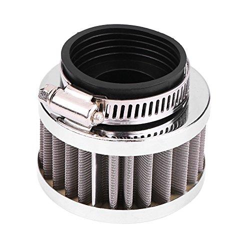 Akozon Inlaatluchtfilter 38 mm luchtfilterinlaatfiltratie voor de meeste 90cc-125cc ATV Go kart Pit Crossmotor motorfiets Quad