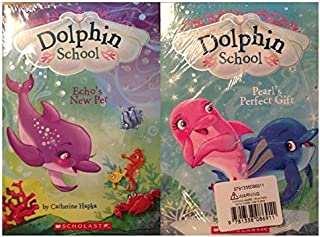 Dolphin School [2-book set] Pearl's Perfect Gift & Echo's New Pet