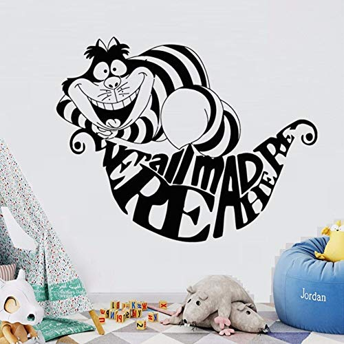 hetingyue kinderkamer slaapkamer sticker cartoon kat dier decoratieve muursticker waterdicht afneembare muursticker