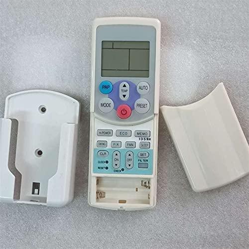 HYJ-R/C, Telecomando con Supporto, Adatto for Il condizionatore Toshiba WC-H01EE WH-H01EE WC-H04JE WH-H04JE WH-H05JE WH-H06JE KTDZ001 (Colore : Remote with Holder)