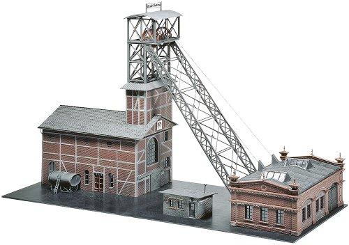 Faller - Casa de decoración para modelismo ferroviario (