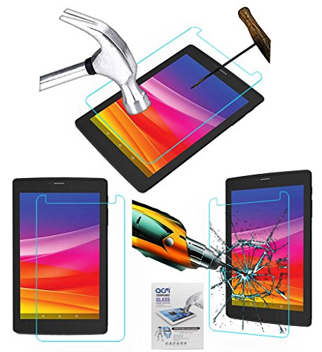 Acm Tempered Glass Screenguard Compatible with Micromax Canvas Tab P702 Tablet Screen Guard Scratch Protector