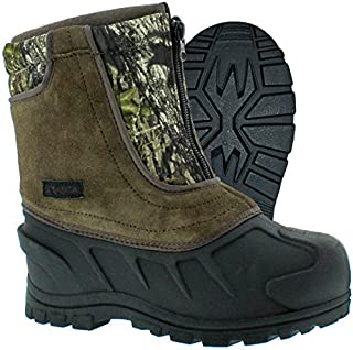 Itasca Kids Youth Snow Stomper Leather/Nylon Winter Boot