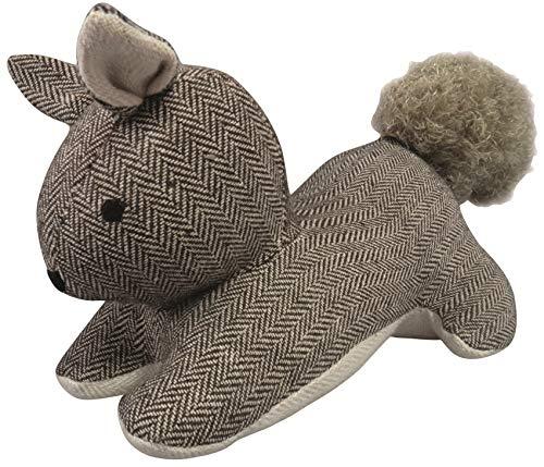 Fermaporta a forma di scoiattolo grigio marrone cuscino Door Stop + Imbottitura Sabbia Decorativa