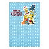 Hallmark die Simpsons zu allen Weihnachten Karte S