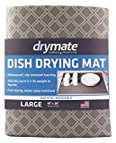 Drymate Dish Drying Mat, Premium XL Size (19' x 24'), Kitchen...