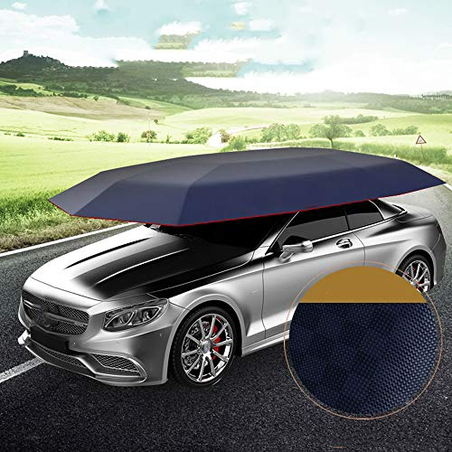 ELECTRONIC-MEI volledig automatische auto zonnescherm intelligente mobiele garage luifel geïsoleerde auto kleding zonnebrandcrème auto cover vouwauto