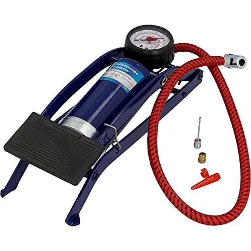 Unitec 10927 - Bomba de aire a pedal (1 cilindro)