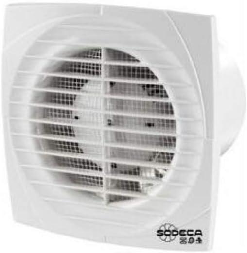 Sodeca 1030655 Extractor ventilación, Blanco