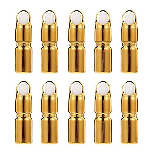 minkissy 10 stuks 5 ml draagbare oliefles glazen flesjes cosmetica fles parfum glas fles container