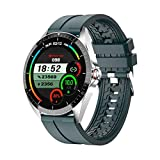Smart Watch, Fitness Tracker with 1.3' Touch Screen,Android iOS Phone Sport Smartwatch with Heart Rate Sleep Monitor, IP67Waterproof Pedometer, Compatible for Women and Men (Dark Green)