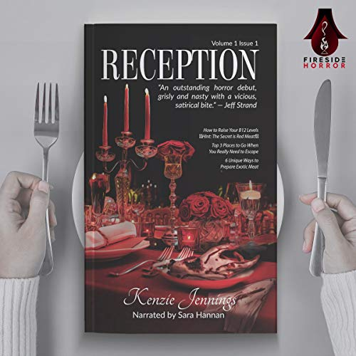 Reception Audiobook By Kenzie Jennings cover art