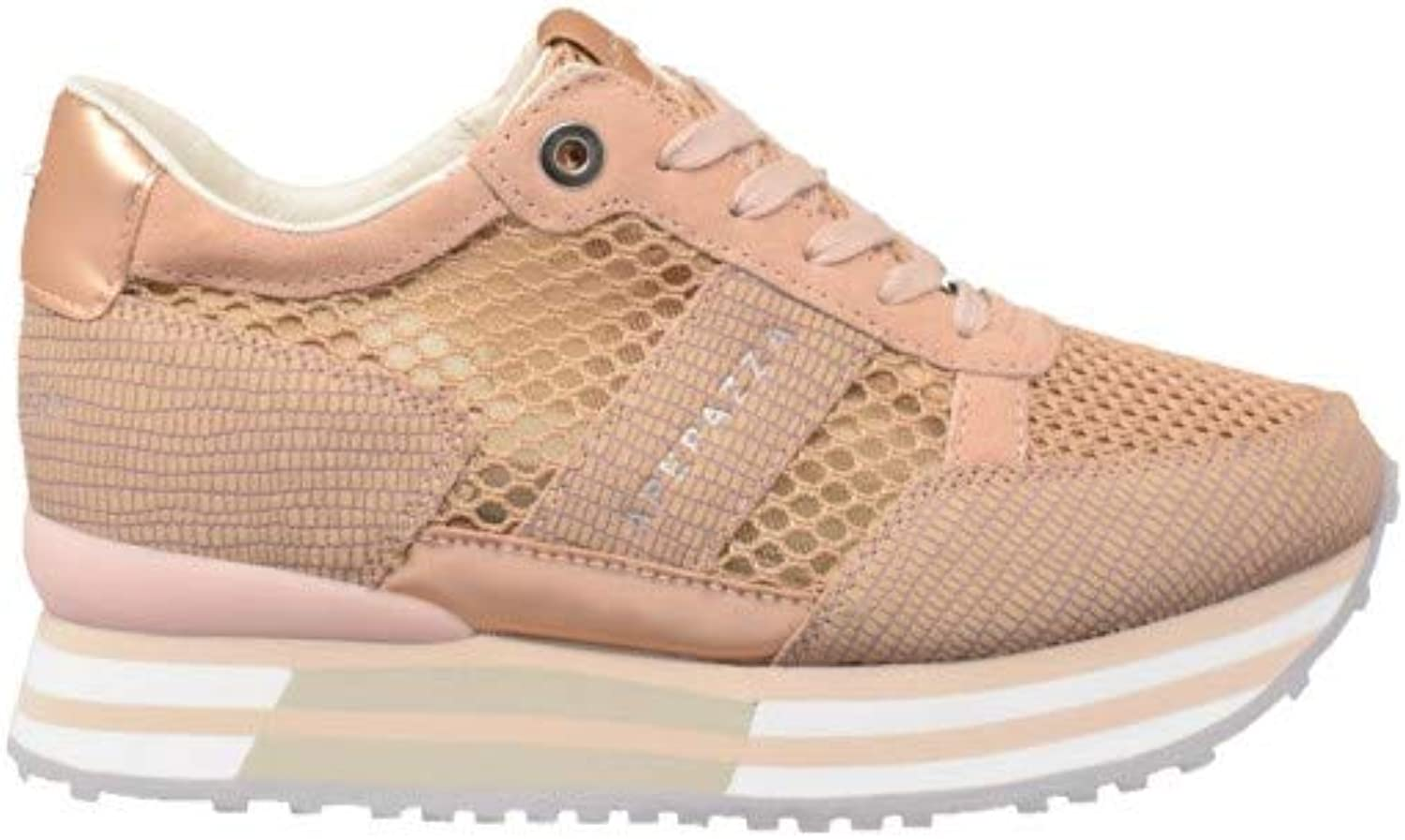 APEPAZZA women's shoes low sneakers with internal wedge RSD30   NET RICCARDA CIPRIA
