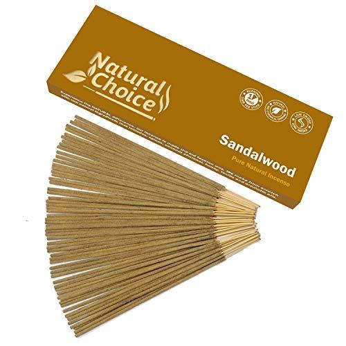 Natural Choice All Natural Traditional Wood Incense Sticks - Sandalwood