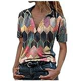 VEMOW Camisas Mujer Nuevo Blusas para Mujer Sexy Tops Camise