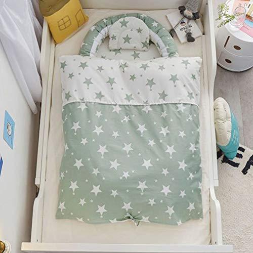 GHKJ Tumbona para Recién Nacidos De 100% Algodón Orgánico, Nido De Bebé Resistente Al Agua para Recién Nacidos, Tumbona Portátil para Recién Nacidos para Bebés (0-24 Meses),Style 4