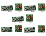 DAOKI 5PCS 315Mhz RF Transmitter and Receiver Link kit for Arduino/ARM/MCU/Raspberry pi Wireless