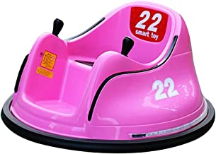 Ride On Bumper Car Toy for Toddlers Kids Aged 1.5+ 6V Battery-Powered with Light