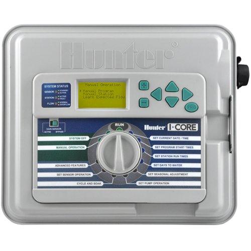 Hunter ic-601-pl - Programador profesional exterior 6 estaciones 4 programas i-core