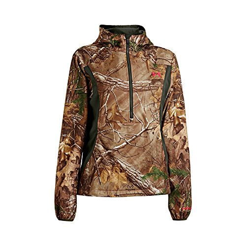 Under Armour UA Scent Control Early Season Speed Freek Hoody - Women's Realtree AP-Xtra / Perfection Medium