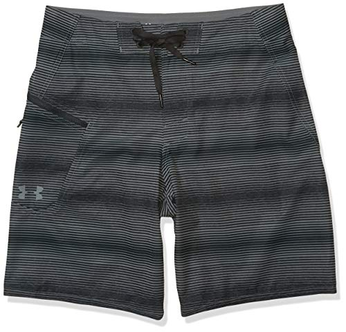 Under Armour Men's Tide Chaser Boardshorts, Pitch Gray (012)/Pitch Gray, 34