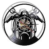 LIMN Relojes Decorativos de Cuarzo silencioso Ancla Barco Brújula Naval Decoración de Pared náutica Vintage Reloj de Pared de Arte