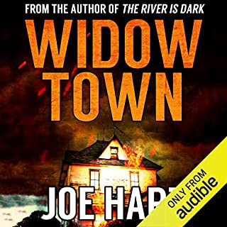 Widow Town audiobook cover art