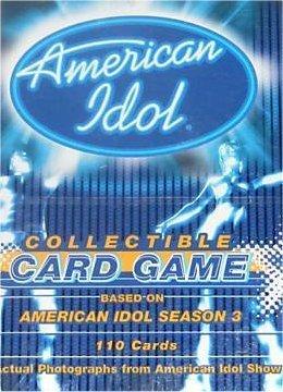 American Idol Collectible Card Game [CCG]: Season 3 Starter Deck by Fleer/Skybox