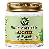 Body Alchemy 99% Pure Aloe Vera With Vitamin E Gel For Skin