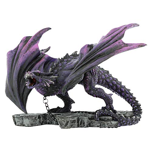 Nemesis Now - Alator Giftware - Azar Dragon Figurine - 22cm - U1612E5 - New