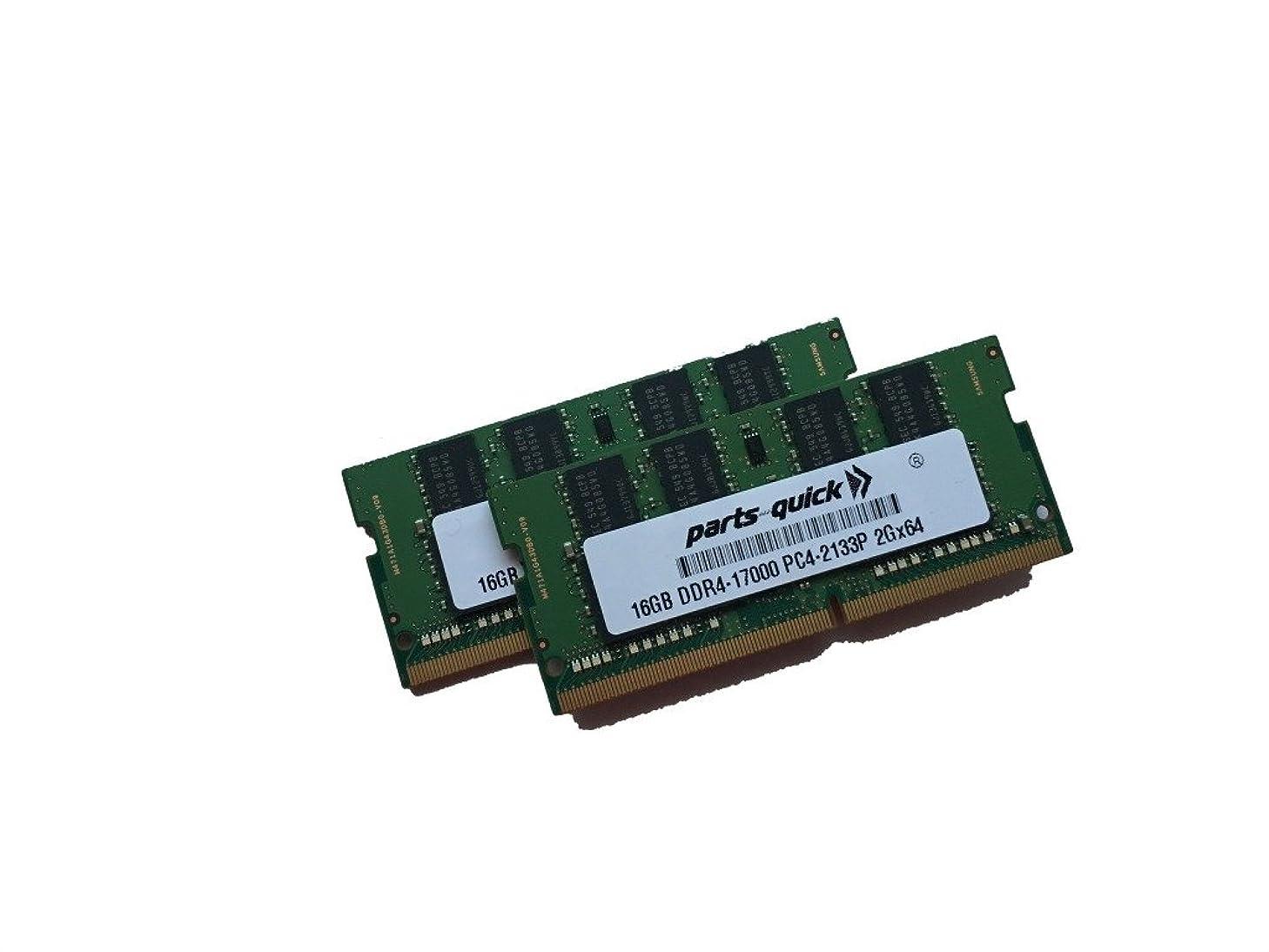 逃げるコインランドリーたまに32?GB ( 2?x 16gbキットメモリfor Acer Aspire V Nitro vn7?–?572tg-775t ddr4?2133?MHz SODIMM RAM ( parts-quickブランド)